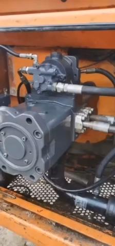 DH500挖机改装K5V200PTO,够力