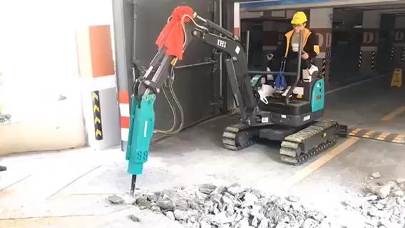 石川岛微挖,三泵合流打击力度强