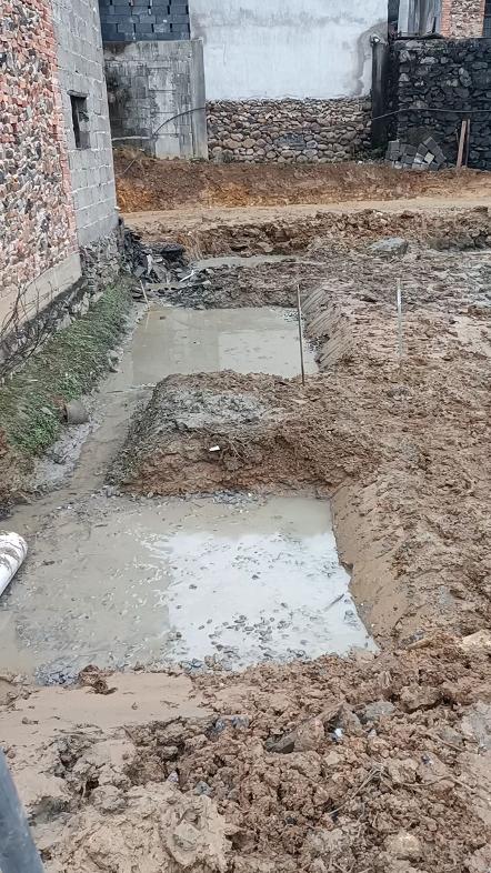 房屋地基施工