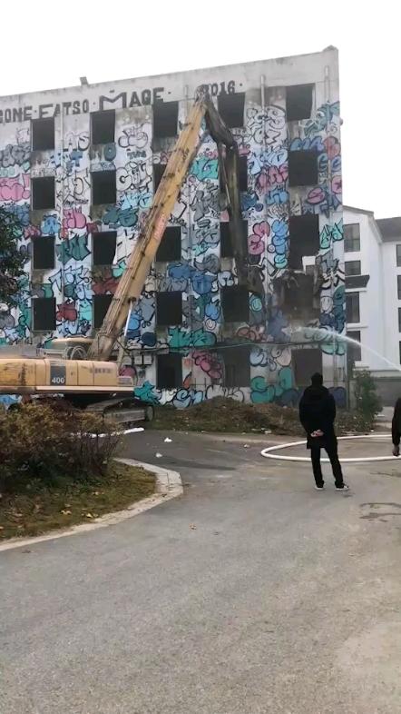 【铁甲日记第十四天】加长臂挖机拆房子-帖子图片