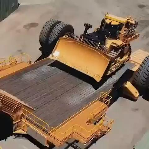 最强低板拖车,没有之一!