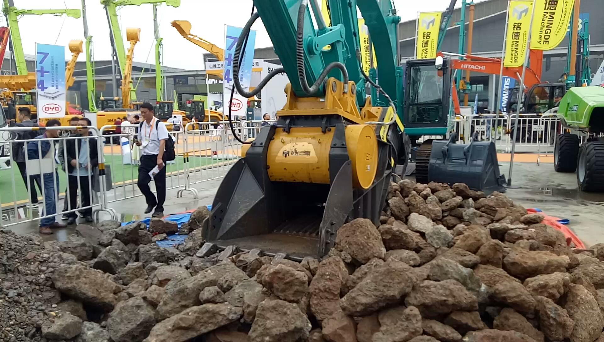 【视频征集】2019长沙展·破碎斗供水系统