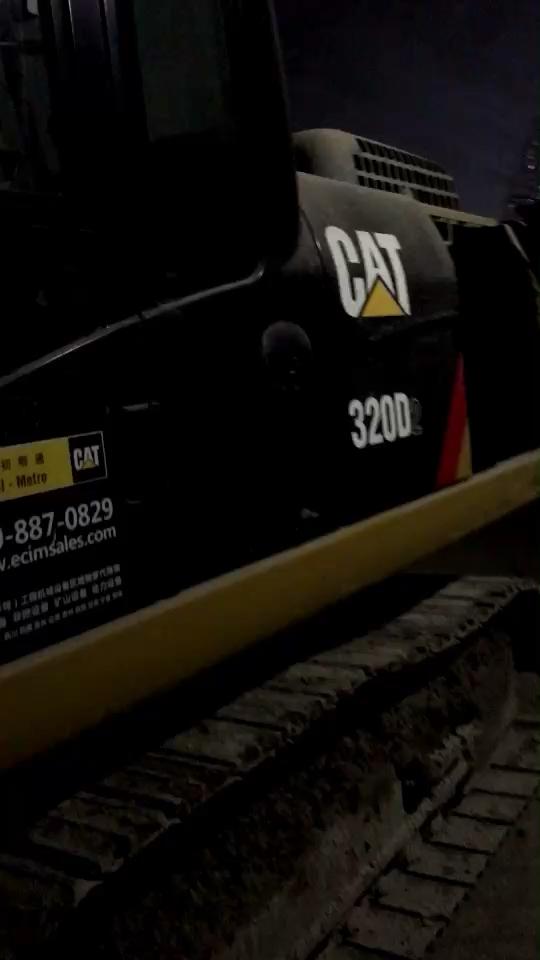 【我说我机】我的卡特320D2,一直干隧道施工。(1)