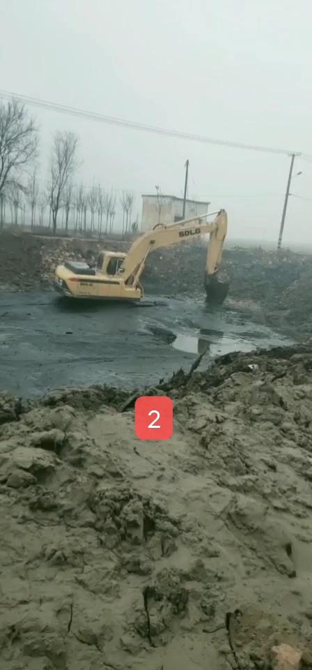 挖友们聊聊新款临工210挖掘机的油耗