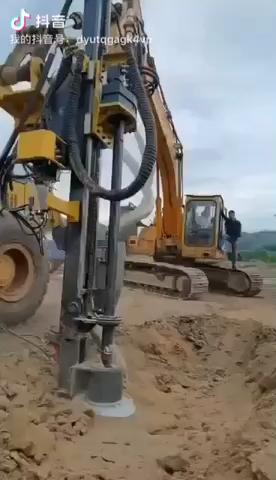 挖改潛孔鉆,挖機第二春-帖子圖片
