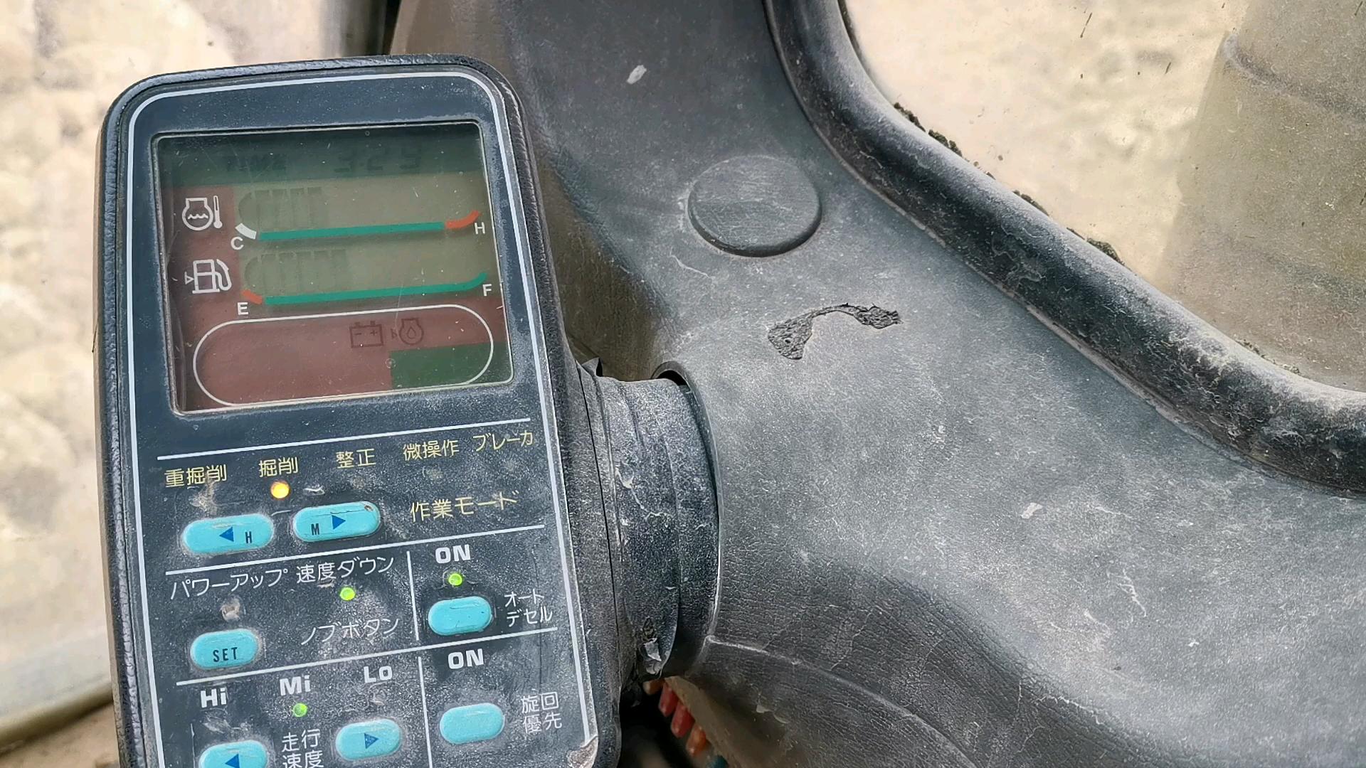 小松6型监控器显示和特殊功能
