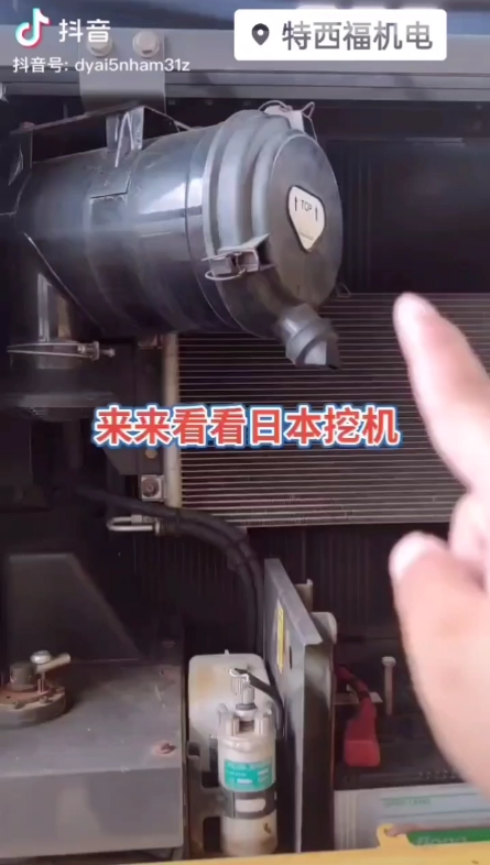 看看您的挖机装的是什么空气滤芯