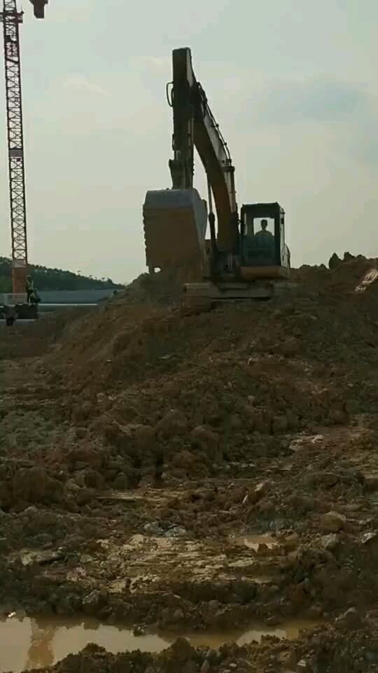 【我的学徒生涯】之第一次开挖机