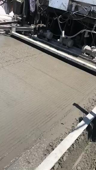 高铁无砟轨道施工 支撑层施工成品
