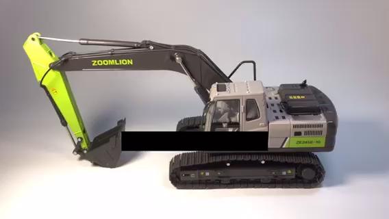 中聯zoomlion  ZE245合金挖掘機模型
