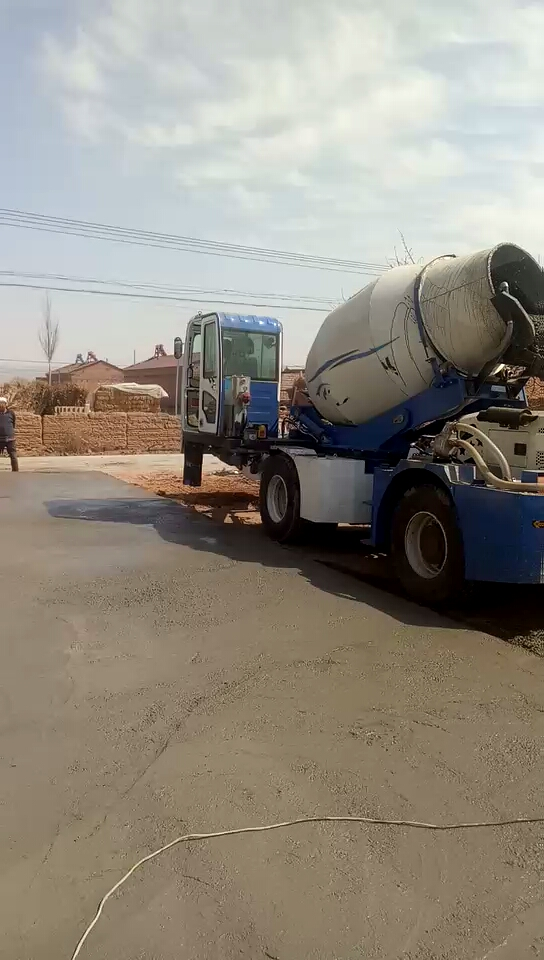 移動混凝土攪拌車3.5方找活干-帖子圖片
