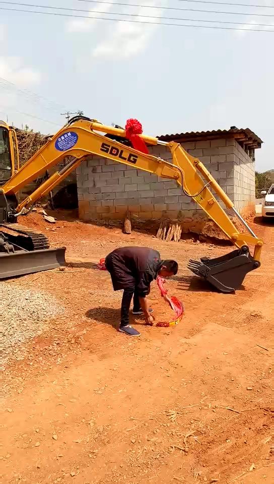 喜提临工E660FL挖掘机