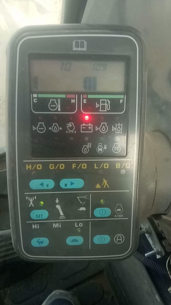小松220-6修好发动机关于转速的疑难杂症,求大神