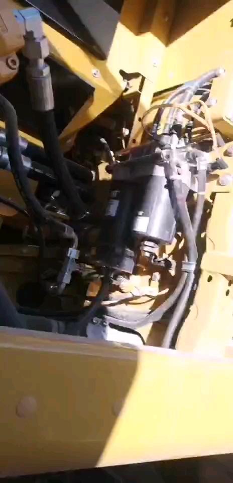 卡特336,液压泵声音异常,全车动作慢