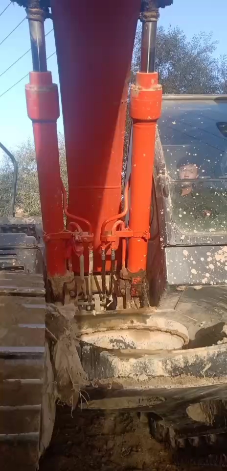 挖掘机大臂升降有异响怎么办?