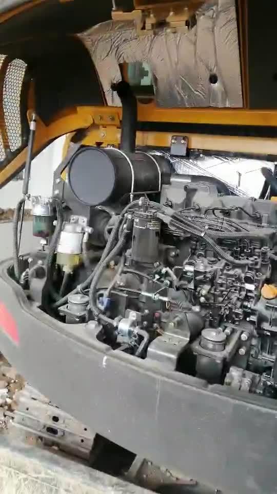 临工6060FL发动机声音异常