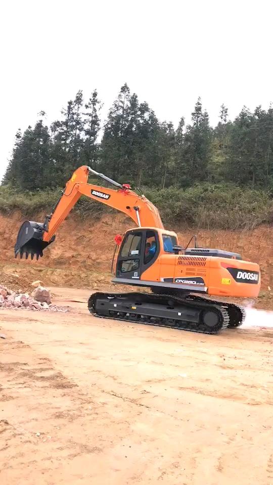 【我的好伙伴】斗山DX230LC-9C提车作业