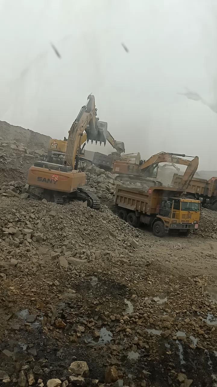 【三一国产力量】石场到煤矿,入行10年开过的三一设备!
