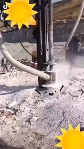 巖石打孔,挖機改鉆機-帖子圖片
