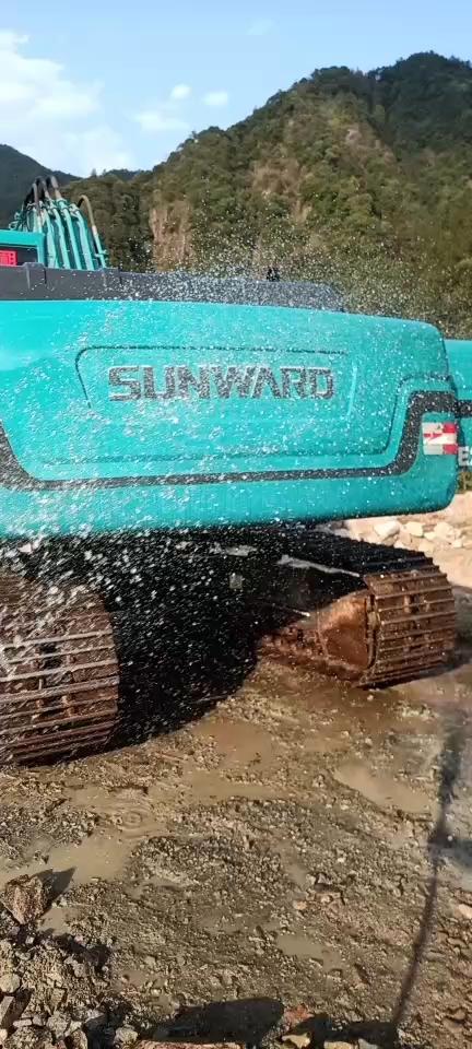 我的網紅小藍,山河智能215E挖機3500小時使用報告