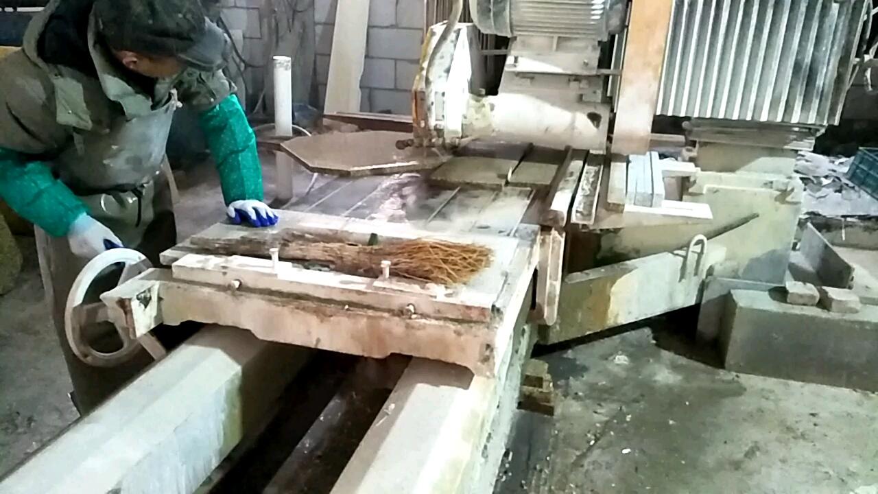 工地石材加工区