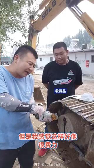 挖机这样加齿轮油省时又省油!