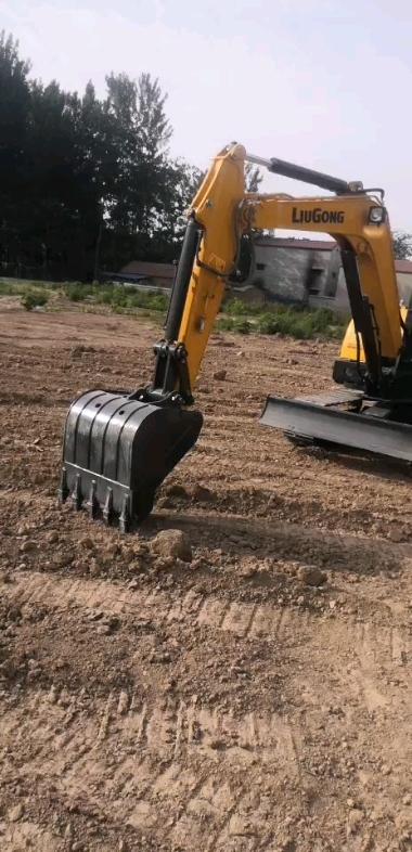 柳工906E挖掘机218小时使用报告