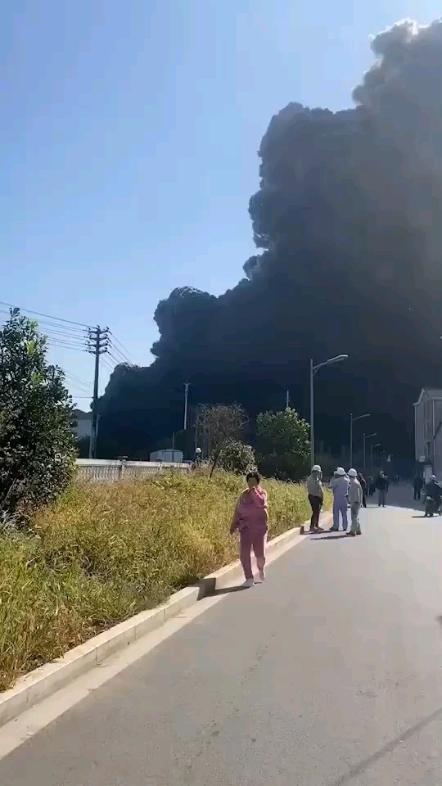 化工厂爆炸