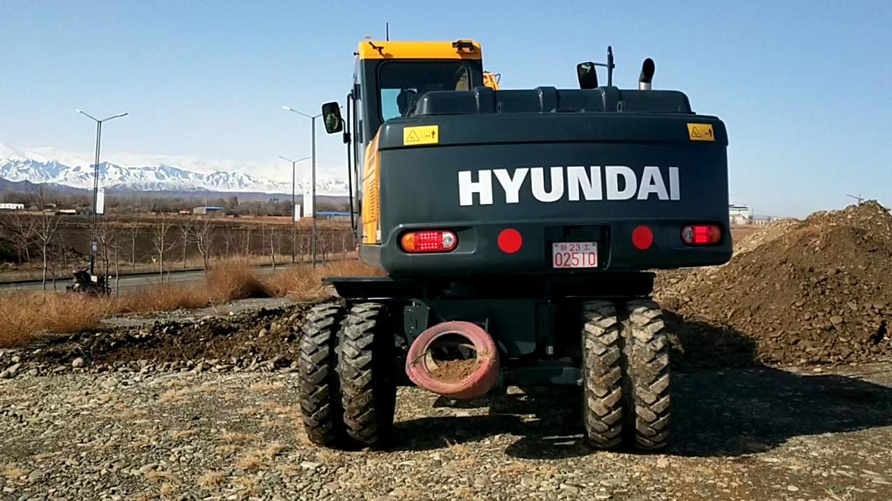全款77.5万提车 现代R150WVS轮挖初体验