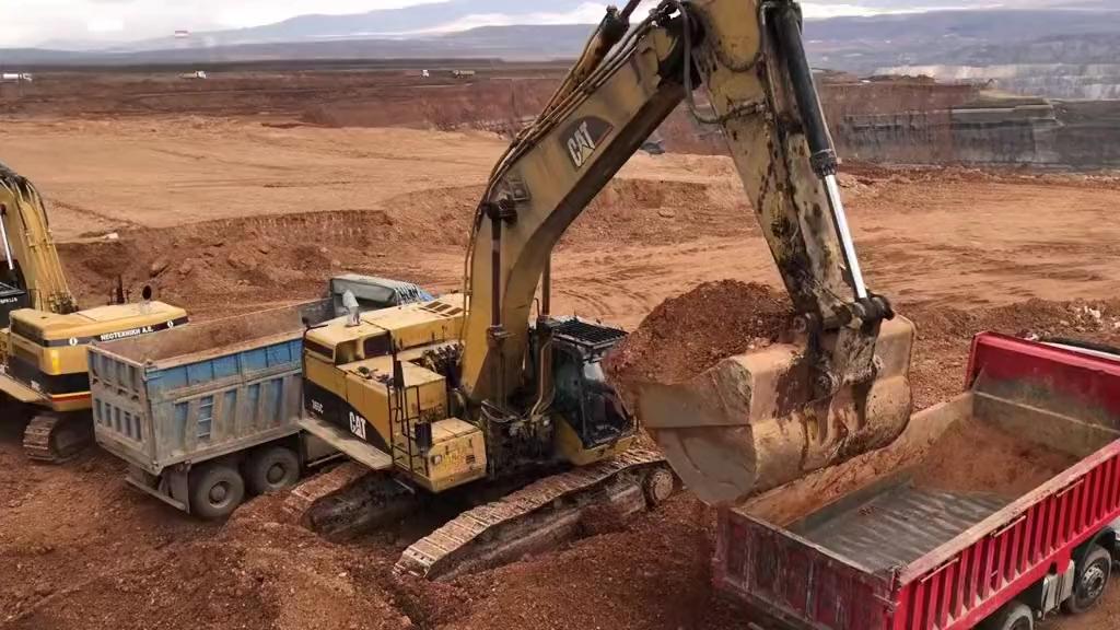卡特365C大型挖掘機-帖子圖片