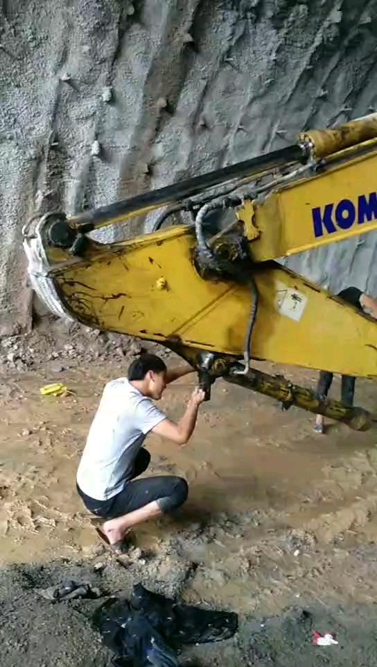 【干过的工地】隧道里的施工过程