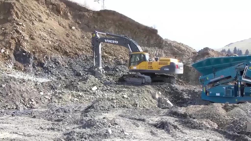 沃爾沃360履帶式挖掘機-帖子圖片