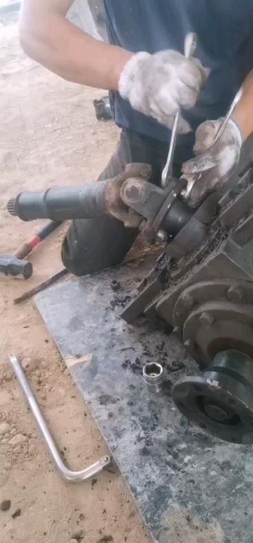 論輪式挖機的行走故障-帖子圖片