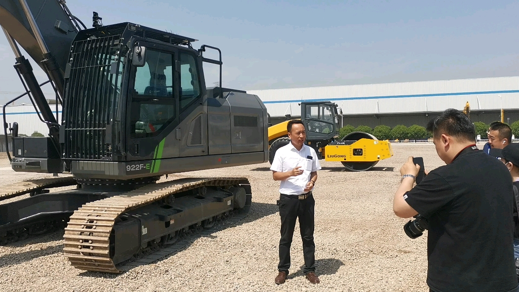 近距離接觸柳工新品挖掘機之922FE、922F篇-帖子圖片