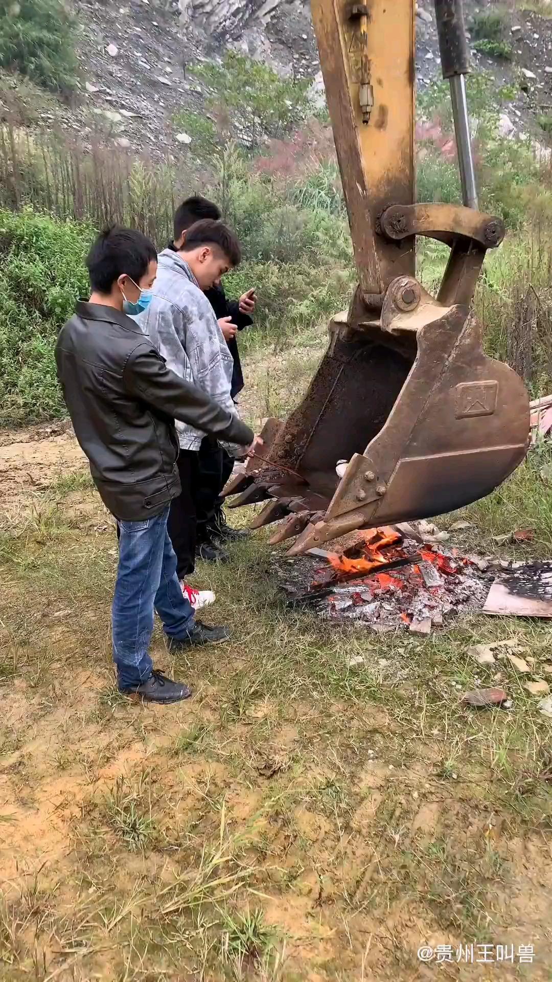洗锅半小时 热锅两小时 大酷铁板鱼