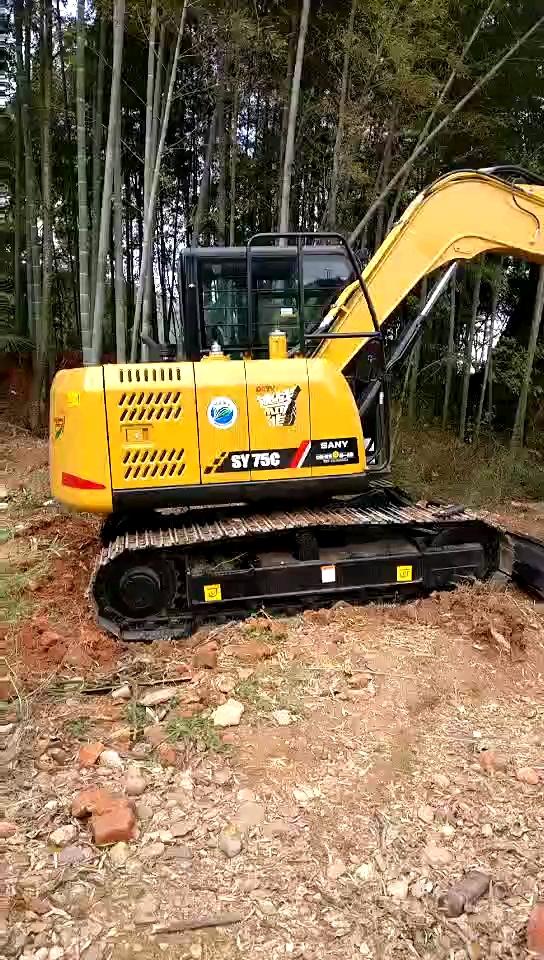 三一重工75-10小挖1360小时使用报告