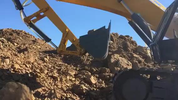 1:10液压挖掘机模型