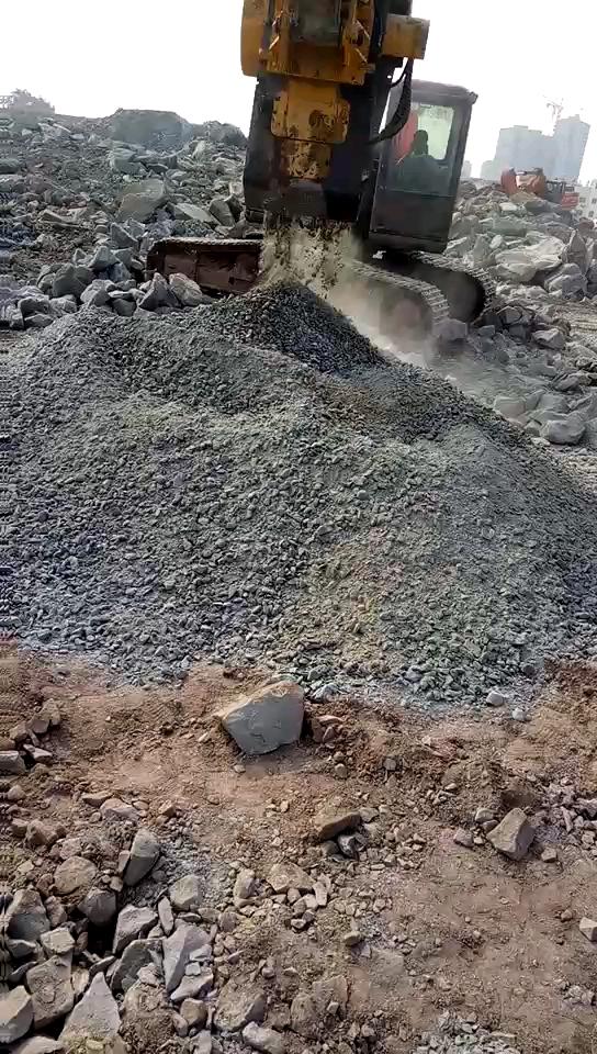 破碎斗破碎建筑垃圾
