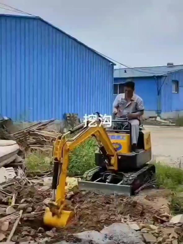 小型挖掘機-帖子圖片