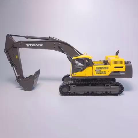 沃尔沃EC480精仿合金挖掘机收藏模型-帖子图片