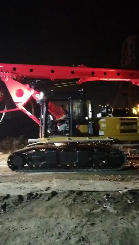 搞挖机10年不好干,如今喜提台三一155旋挖钻!