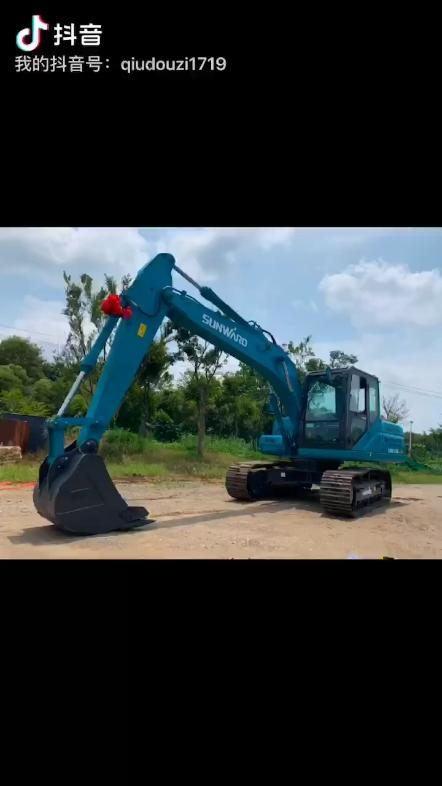 【提车作业】喜提山河智能SWE135E-3H挖掘机-帖子图片