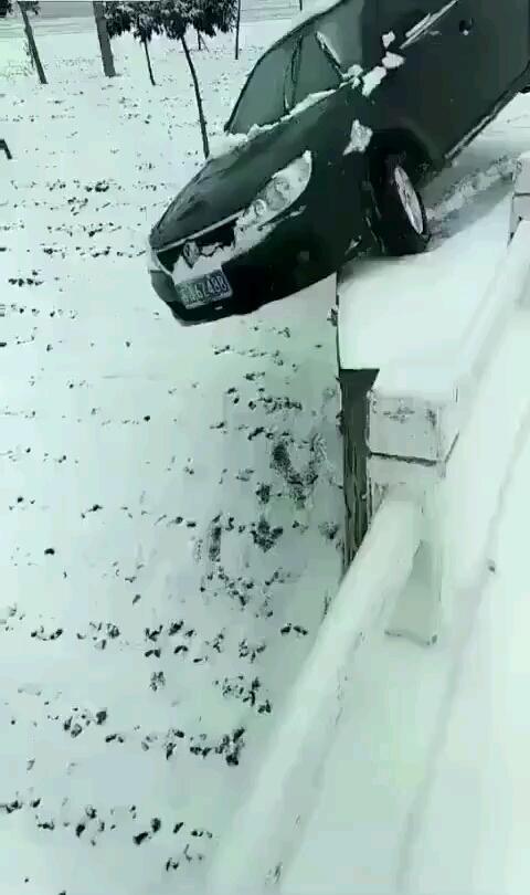 都在下雪,希望甲友都平平安安回家过年!!!