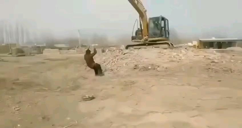 绳子断了……