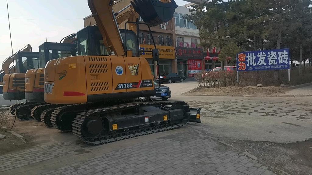 【飞哥说车30】7吨销量王——三一SY75C挖掘机评测