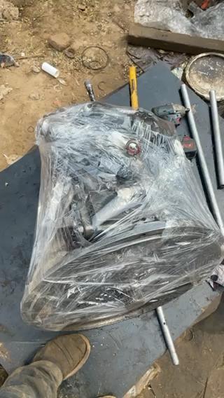 液压泵换修理包,发动机烧机油大修!
