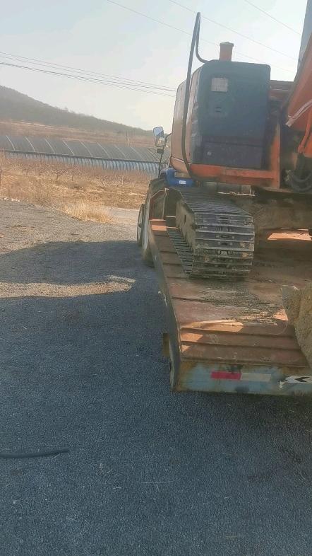 挖掘機拖板車-帖子圖片