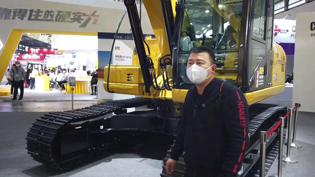 【老贡说车】新晋网红挖机Cat323GX使用感受!