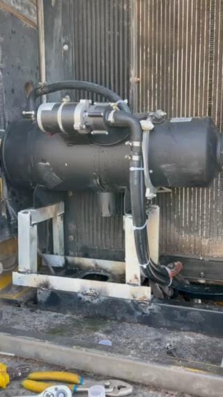 精勇分享:发动机预热装置-水锅炉改装!