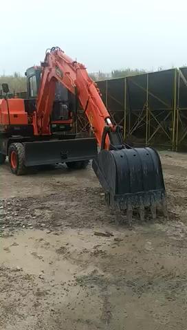 探秘国产轮挖工厂。说说对于轮挖未来的看法